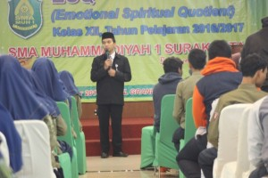 Spiritual Building Training Kelas XII